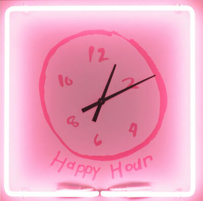 Rachel Lee Hovnanian, 'Happy Hour Clock', 2018