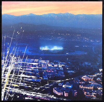 Pete Kasprzak, 'Dodger Stadium From The Sky II', 2021