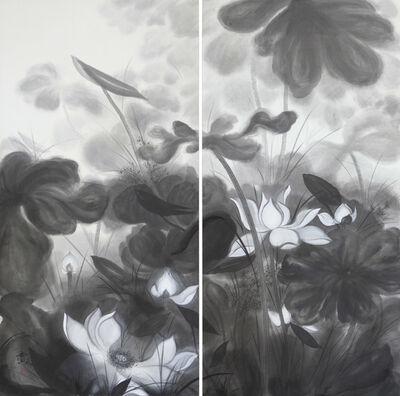 Minol Araki, 'Lotus Pond (MA-010)', 1997