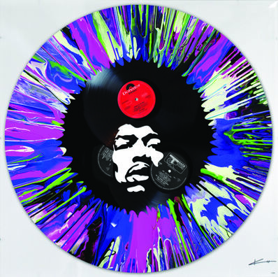 Keith Haynes, 'Jimi in a spin', 2017