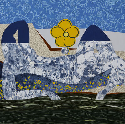 "Dinorá Justice, 'Portrait Eighteen - after Matisse's ""Pink Nude""', 2018"