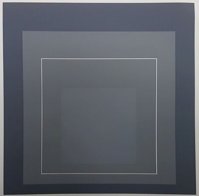 Josef Albers, 'Hommage au Carre (Homage to the Square)', 1972