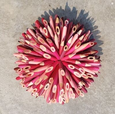 Federico Uribe, 'Pink Pencil Flower', 2019