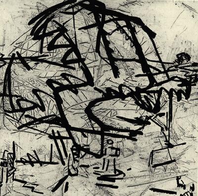 Frank Auerbach, 'Tree at Tretire I', 1975