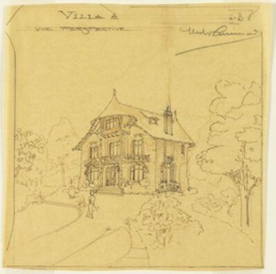 Hector Guimard, 'Perspective View of a Villa', 1900-1905