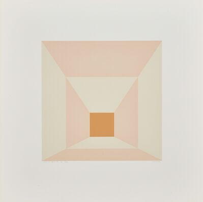 Josef Albers, 'Mitered Square b from Mitered Square portfolio', 1976