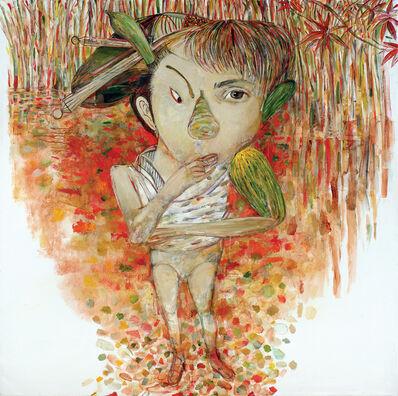 Arturo Rodriguez, 'Arcimboldo, Diane Arbus, Sharaku, Utamaro Ghost', 2017