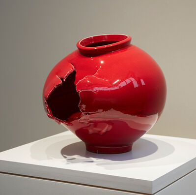 Steven Young Lee, 'Blood Moon Jar', 2019