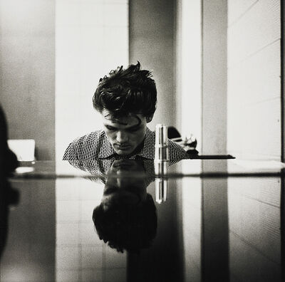 William Claxton, 'Chet Baker (at the piano), Hollywood', 1954
