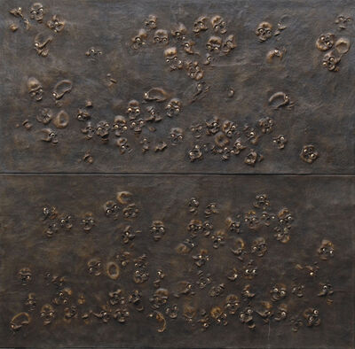 Jake & Dinos Chapman, 'Skull Wall Panel', 1999