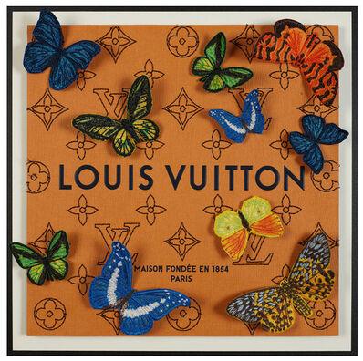 Stephen Wilson, 'Louis Vuitton Butterfly Monogram', 2020