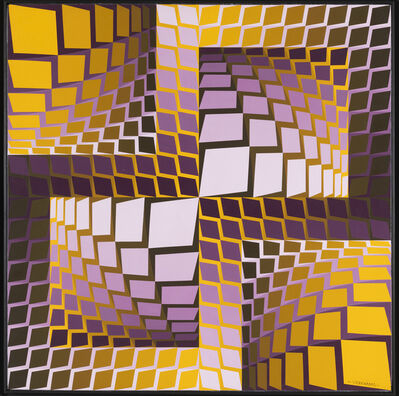 Victor Vasarely, 'Kita', 1989