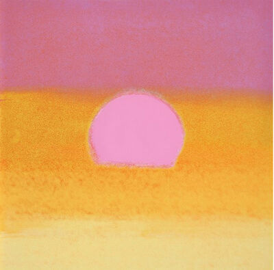 Andy Warhol, 'Sunset (Unique) (Pink/Yellow)', 1972