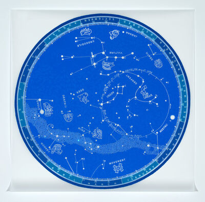 René Treviño, 'Renaming the Constellations, Blue', 2016