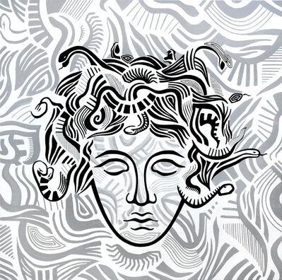 Daniele Locci, 'acrylic, enamel on canvas', 2019