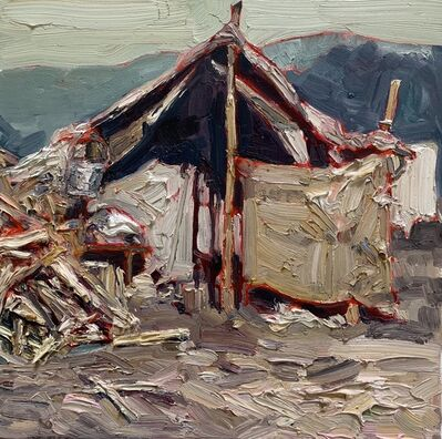 Hung Liu, 'Duster Shack 10', 2019