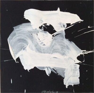 Harry Bertschmann, 'White on Black 4', 2008