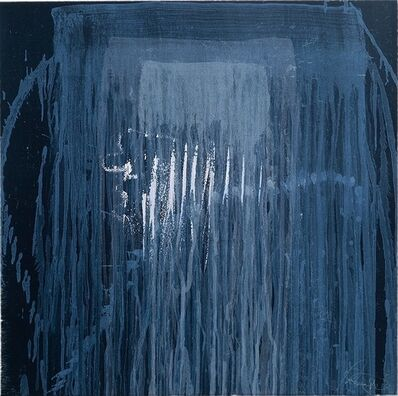 Pat Steir, 'Wasserfall Blue', 1996