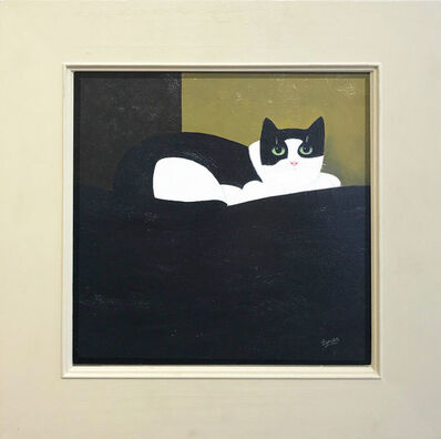 Martin Leman, 'Watchful Cat', 2019