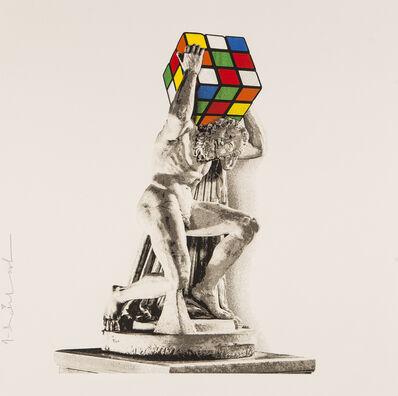 Mr. Brainwash, 'Atlas - Rubik's Collection', 2021