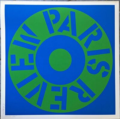 Robert Indiana, 'Paris Review (Sheehan, 34)', 1965