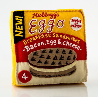 Lucy Sparrow, 'Eggo Breakfast Sandwiches', 2017