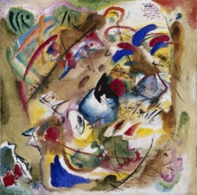 Wassily Kandinsky, 'Dreamy Improvisation', 1913