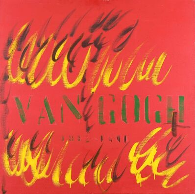 Tano Festa, 'Van Gogh', 1981