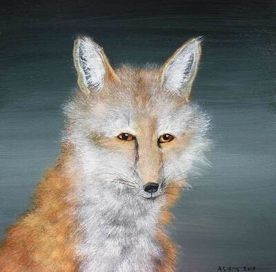Anne Siems, 'Wise Fox Face', 2019