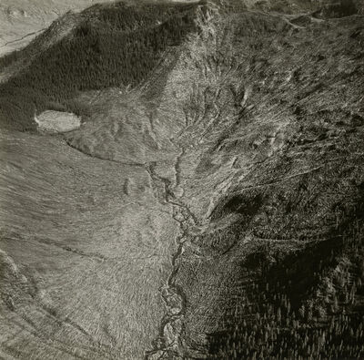Emmet Gowin, 'Area of Mount St. Helens', 1980