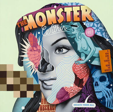 Tristan Eaton, 'The Monster Within', 2016