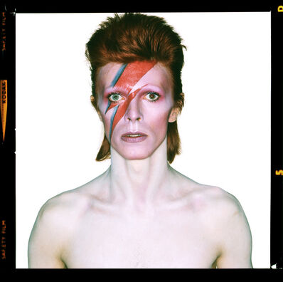 Brian Duffy, 'David Bowie. Aladdin Sane (Open Eyes)', 1973