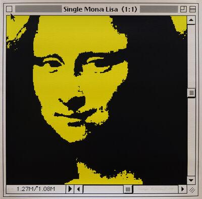 George Pusenkoff, 'Single Mona Lisa (Yellow)', 1999