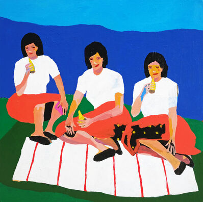 Alan Fears, 'Wives on a Blanket', 2019
