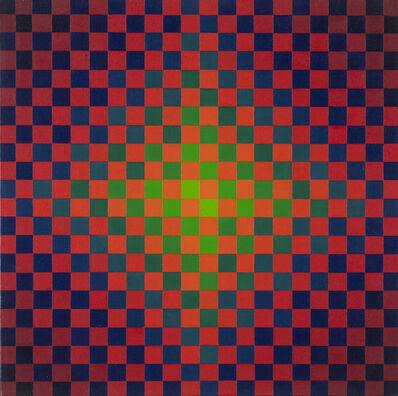 Hugo Demarco, 'Vibration rouge vert', 1959