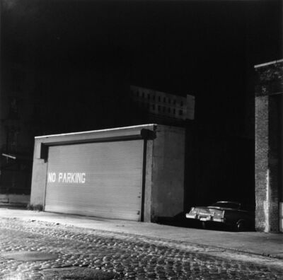 Peter Hujar, 'No Parking', 1976