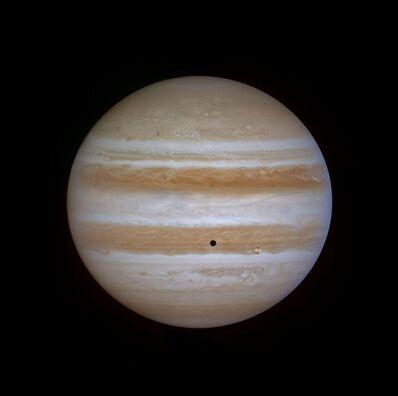 Michael Benson, 'Full Jupiter and Io, Cassini, December 9, 2000', 2012