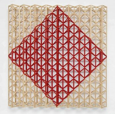 Rasheed Araeen, 'Red Square (After Malevich)', 2015