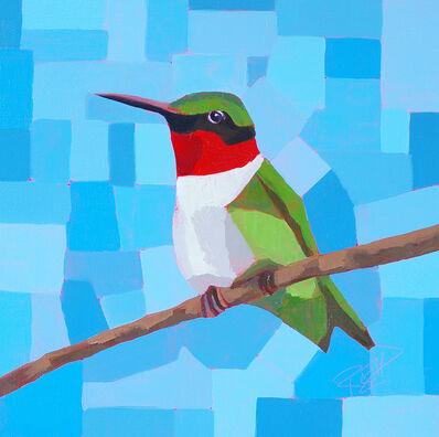 Cynthia Reid, 'Hummingbird in the Garden', 2019