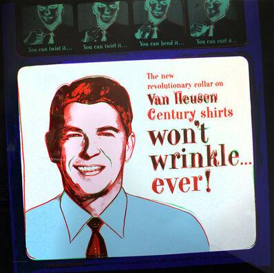 Andy Warhol, 'ADS: VAN HEUSEN (RONALD REAGAN) FS II.356', 1985