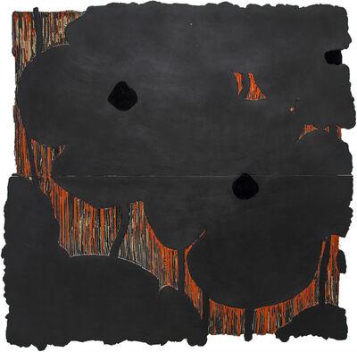 Donald Sultan, 'Black Flowers', 2003