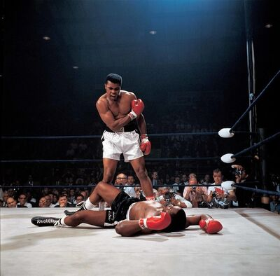Neil Leifer, 'Ali-Liston', 1965