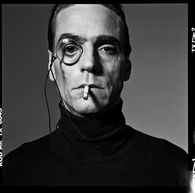 Michel Comte, 'Jeremy Irons, Interview ', 1990