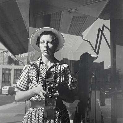 Vivian Maier, 'Self-portrait', 1954