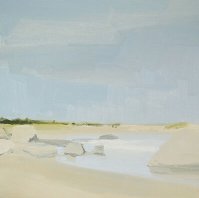 Sara MacCulloch, 'Beach and Rocks', 2014