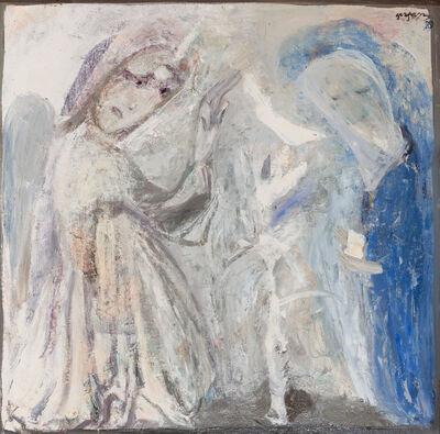 Irakli Parjiani, 'Annunciation', 1989