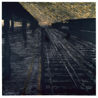 Donald Sultan, 'Herndon Railway, 18 August', 1988