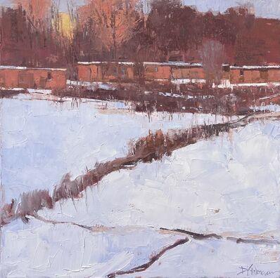 Dinah Worman, 'Warm Light on Snow', ca. 2020