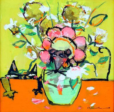 Mohammed Al Mahdi, 'Van Gogh Vase', 2017