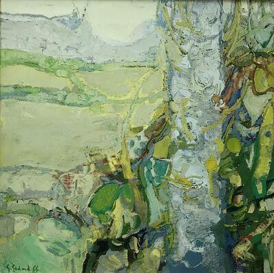 Gabriel Godard, 'Paysage à l'arbre', 1966